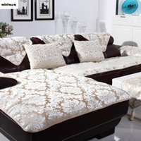 كرسي يغطي الأوروبي فرساي أريكة وسادة جلدية منشفة مخصصة الصيف عدم الانزلاق والشتاء أفخم غطاء الأزياء
