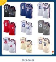 Basketball Jersey21 Joel Embiid