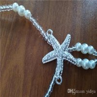 Ankle Women For Crochet Beach Hot Bracelet Sandles Anklets 2021 Barefoot Sale Chain Wedding Favors Bridesmaid Gift 6pair lot Foot Pearl Xnul