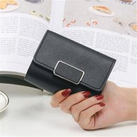 Wallets Fashion For Female Small Bag Women PU Leather Short Wallet Square Hand Money Package Pocket Coin Purse Card Holder