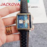 Горячая распродажа Люкс Супер Хороший Президент День Дата Смотреть большой Знаменитый квадратный Дизайнер Мужская Рельдия Часы Часы Наручные Часы Наручные часы