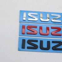 For Isuzu DMAX D-MAX Emblem Car Sticker Rear Trunk Number Letter logo Badge Decal