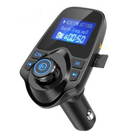 NEW T11 Car Bluetooth Car MP3 Kit LCD Display Hands-free Call Support FM Transmitter Aux Modulator Micro SD TF Music Playing Car Charger