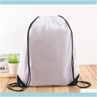 Borse all'aperto Sport ESTERNO ESPORTOOUTDOOR Impermeabile Nylon DString Bag String Zaino per le donne Uomo Pacchetto di stoccaggio di viaggio Adolescenti B BBYPXB D