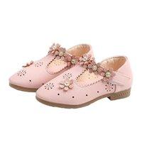 Sneakers Skoex Children Flat Shoes Girls Fashion Rhinestone Princess Flowers Breathable Ballerina Slip-on Little Girl Toddler Shoe