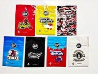 Gasco Mylar Çanta Perakende Paketi 7 Seçenekler Fermuar 3.5G 1 8 oz Depolama Ambalajı Tütün Çiçek California Gas Co için stokta