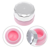 Nail Gel 4pcs Mini Polish Bottles Glue Jars Empty Cosmetic Containers