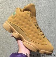 Wholesale trigo 13s 13 colheita dourada elemental ouro atacado sapatos de basquete melhor qualidade homens tamanho com caixa frete grátis