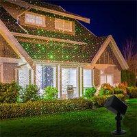 Decoración al aire libre Decoración de césped Etapa de césped Proyector impermeable IP44 Cielo Star Star Lámpara de Navidad Lámpara de Navidad