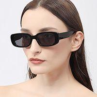 Солнцезащитные очки Мода Маленькая Рама Женщины Бренд Дизайнер Солнцезащитные Очки Старинные Прямоугольные Дамы