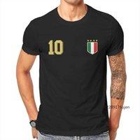 Herren T-Shirts Retro Italien Fussball Jersey Italia T-Shirt Herren Kundenspezifische Produkte Übergroßen Grafik O-Hals Täglich kurz