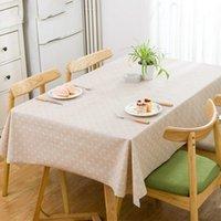 PASTORAL SQUACE TABLE TABLE DE TABLE DE TABLE PLASTIQUE PVC COUVERTURE DE LA TABLEAU VERT DOT NAPPLOTH NAPPLOTH IMPONDAIRE DE MAISON DE MAISON DE MARIAGE DE MARIAGE