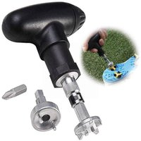 Golf Training Aids 1pcs Shoe Nailer Spike Ratchet Handle Wrench With On off Adjustable Club Switch Practical Cleats Tool E2q1