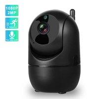 Cameras IP Camera 1080P 2MP Surveillance With Wifi IR Night Vision Auto Track Two Way Audio Wireless Home Security CCTV