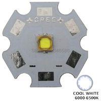 Ampoules 10pcs LG3535 5W LED White froide 6000-6500K 1-3W-5W avec 8mm 10mm 12mm 12mm 16mm 50mm PCB au lieu de CREE XPG2 XP-G