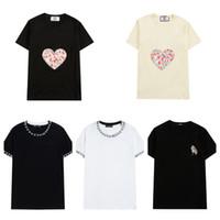 2021 Новая мода мужчина футболки мужчины печатают дышащие негабаритные мужские женские футболки экипаж шеи Homme Tee рубашки с коротким рукавом человек футболки вершины