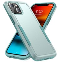 Airbag Colorblocking Cell Phone Cases for iPhone 7 8 Plus XR XS 12 Pro Max 13 Mini SE2 Sam S20 S21 FE Note 20 Ultra A02S A32 A74 5G Moto G Play 2021 Xiaomi Mi 11 Lite Back Covers