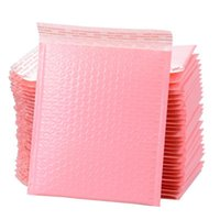 Gift Wrap 10 20 50Pcs Self Seal Pink Bulk Bubble Mailers Envelope Lined Bag Padded Film Polymailer Bags For Packaging