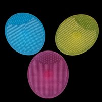 Cleaning Cloths 1PCS Silicone Cleanser Pads Face Wash Brush Exfoliating Cleansing Blackhead Remover Skin Care Tools