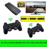 Video Game Console Arcade Wireless Kids Retro Emulator Console 10000 Game 4K HD Output TV Gaming Gamepad for Super Nintendo  PS1