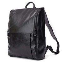 Backpack Genuine Leather Men Backpacks 100% Natural Casual Travel Boy Large Computer Laptop Rucksack Bag