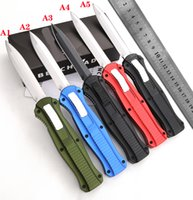 automatic KNIFE CNC T60161 handle D2 steel blade hight quality UTX70 UTX85 BM3300 A07 UT121 a19 Camping tactical pocket folding Quick opening cutting tool