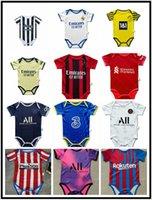2021 2022 París Real Madrid Baby Soccer Jerseys 6 a 18 Sao Paulo Palmeiras Flameng Meses Football Shirts Ball Infantil Squad Body 22 Ropa Maillots Futbol