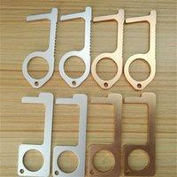 No-Touch-Tür-näher tragbarer Stock für den Drücken der Aufzugstaste Hände halten Reinigung wiederverwendbarer personalisierter Keychain 215 R2