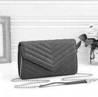 여자 가방 핸드백 지갑 정품 가죽 고품질 여성 메신저 십자가 체인 체인