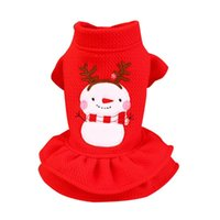 Dog Apparel Cotton Clothes Couple Shirt Dress Lovely Coat Autumn Winter Polyester Soft Costume Pets