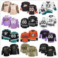 Anaheim Ducks Jerseys Mens 여성 아이 캠프 파우 러 코리 페리 라이언 GetZlaf Hampus Lindholm Teemu Selanne Paul Grant Hockey Custom Jerseys