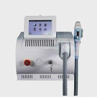 عمودي 360 المغناطيسي SHR مقبض سريع إزالة الشعر والجلد تجديد الجلد IPL Elight OPT SHR الأجهزة للاستخدام الرئيسية العيادة