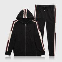 Erkek Tasarımcılar Eşofman Yeni Spor Setleri Kış Rahat GiysileriBir Boyutu Kadın İki Parçalı Suit Hoodies Kazak + Joggers Pantolon N1