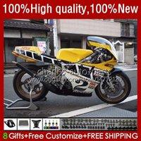 Fairings For YAMAHA TZR 250 TZR250 R RS RR TZR-250 TZR250R 92 93 94 95 96 97 Body 32No.41 YPVS 3XV TZR250-R 1992 1993 1994 1995 1996 1997 TZR250RR 92-97 Bodywork Yellow white