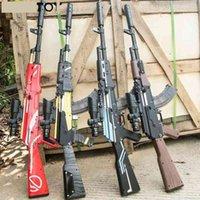 الادسنس بندقية دليل بندقية akm لعبة المياه رصاصة اطلاق النار الفتيان اللعب في الهواء الطلق cs لعبة الهواء لينة قناص سلاح الهدايا للأطفال