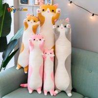50cm cute cat panda koala large stuffed animals plush toys for children girls soft long sleep pillow hugs christmas gift