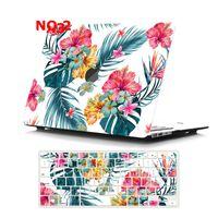 Cas d'ordinateurs portables à peinture Clear Matte pour MacBook Pro Retina 12 13 15 Touch Bar AIR 11 13,3 pouces A2179