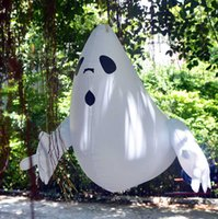 Halloween Bar Haunted House Shopping Mall Decoration Hanging Large Thick Inflatable Pumpkin Spider Ghost Happy Halloween Party H0910