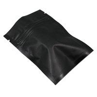 Resealable Mylar Foil Aluminum Zipper Packaging Bags Closure Aluminum Foil Food Storage Pouch Foil Baggies ZHL4285