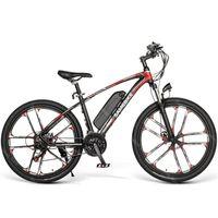 Poderosa bicicleta elétrica samebike my-sm26 duas rodas elétricas-bicicletas com sistema de freio a disco 350w 48V elétricos bicicletas adultos us Stock