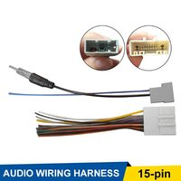 Other Lighting System Car Stereo CD Player Wiring Harness Antenna Adapter 15 Pin Cable Radio Installation Plug For Infiniti Wi