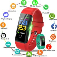 ID115 Plus Bracelet Smart Fitness Tracker Smart Watch Smart Work Tarif Health Moniteur Smart Bracelet Universal Android Cellphones