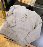 Kinder Sweatshirts Jungen Mädchen Mode Brief Gedruckt Langarm Pullover Tops Kinder Casual Lose Heißer Verkauf Sweatshirts Kinder Kleidung