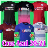 2020 2021 CD CRUZ AZUL SOCCER JERSERYS ROSA Kit Pink Black Home Away 20 21 Alvarado Rodriguez Pineda Escobar Romo goleiro de futebol