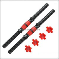 Aessories Equipments Supplies Sports & Outdoorsaessories Dumbbell Rod Solid Steel Weight Lifter Fitness Exercise Tool 2Pcs Bar With 4Pcs Col