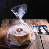 Gift Wrap 10 Pcs Chiffon Cake Packaging DIY Baking Bags Paper Box For Bakery Cholocate Candy Food Packing Bag 6 8 Inch