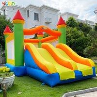 Jardim de festa de aniversário Jogo Residencial Inflável Bounce Casa Bouncy Castelo Combo Para Meninos E Meninas