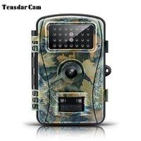 Tensdarcam HD 사냥 카메라 720p 940nm 적외선 야생 비전 게임 야생 동물 카메라 동물 트랩 사슴 트레일 카메라