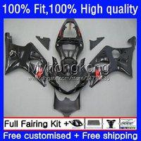 Motorfiets carrosserie voor Suzuki GSXR 1000CC 1000 cc 2000 2001 2002 Body 24NO.82 GSXR-1000 GSX-R1000 00-02 GSXR1000 K2 00 01 02 OEM Injectie Voorraad Zwarte Mold Fairing