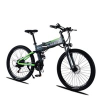 27.5'' Folding Electric Bicycle 2 Wheels Electric Bicycles MTB 9AH 500W 48V Mountain Electric Bike Outdoor Cycling For Adults